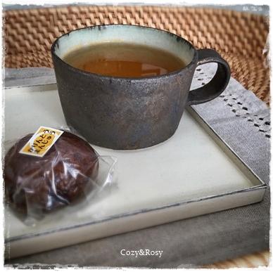 ほうじ茶&かりんとう饅頭