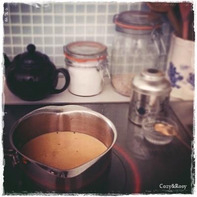ミルクティー作り