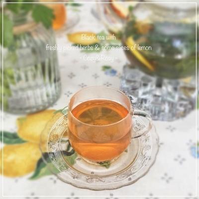 ハーブを楽しむ紅茶