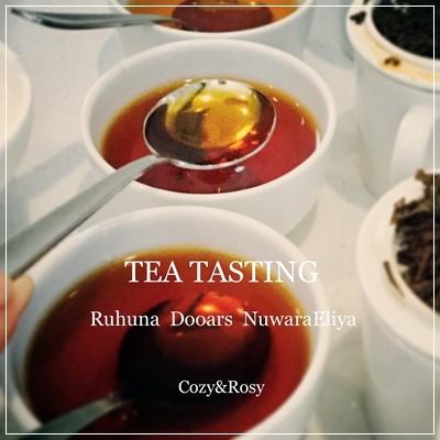 産地紅茶3種を試す