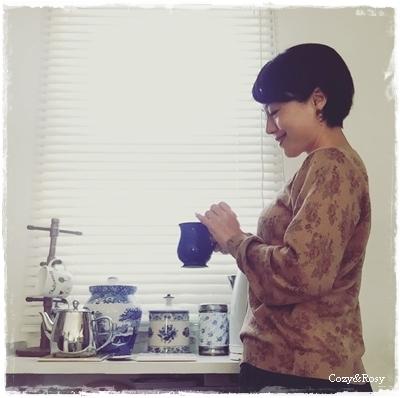 朝の紅茶は魔法の儀式