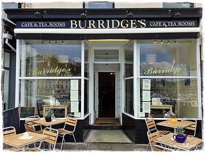 英国トーキーのティールーム BURRIDGE'S TEAROOM