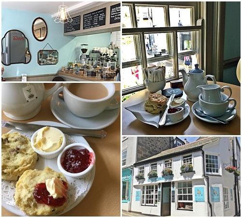 英国コーンウォールのティールーム Madeleine's Tearooms