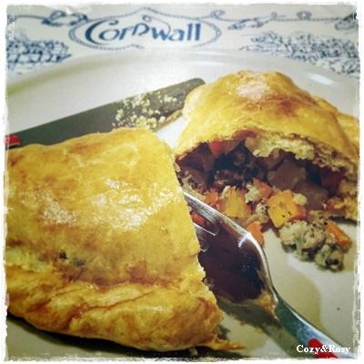 コーニッシュパスティ 英国料理