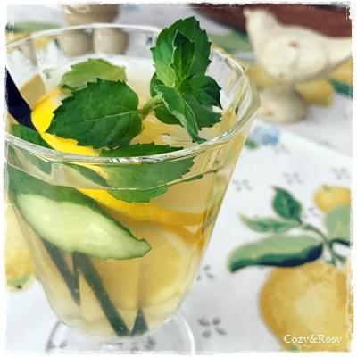 緑茶アイスティー Iced Greentea