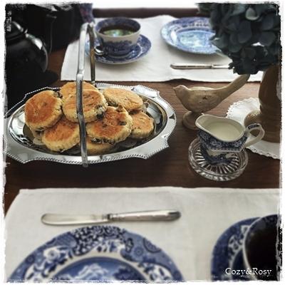 英国ウェールズの伝統郷土菓子 ウェルシュケーキ
