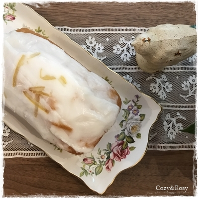 レモンヨーグルトケーキ 英国菓子