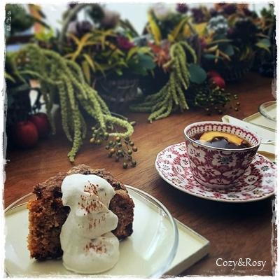 英国グランマ風アップルスパイスケーキ