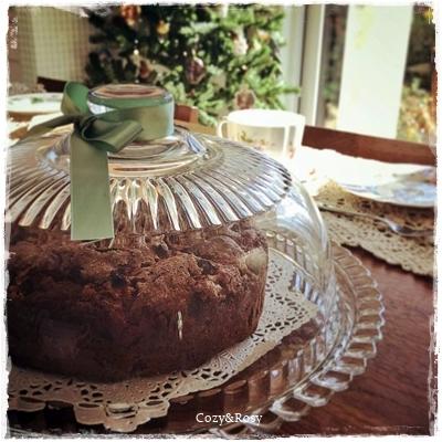 英国グランマのアップルスパイスケーキ 英国菓子