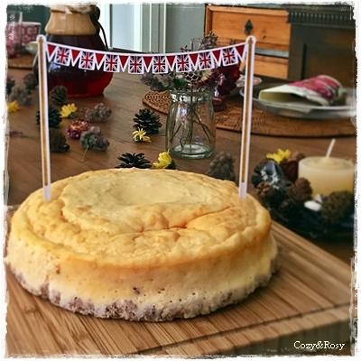 コーニッシュチーズケーキ